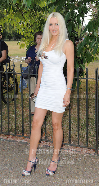 Emma Noble arriving for the Serpentine Gallery Summer Party, Hyde Park, London. 08/07/2010  Picture by: Simon Burchell / Featureflash.