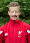 Joseph Small<br /> <br /> Team Wales team photo prior to leaving for the Bahamas 2017 Youth commonwealth games - Sport Wales National centre - Sophia Gardens  - Saturday 15th July 2017 - Wales <br /> <br /> ©www.Sportingwales.com - Please Credit: Ian Cook - Sportingwales
