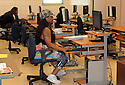 Computer training and access is one of the many new amenities in Harmony Oaks apartments which replaced outdated public housing units in post-Katrina New Orleans, Thurs., Sept. 5. 2013.