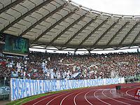 Tifosi della Lazio Curva Nord<br /> Calcio 2002/2003<br /> Foto Andrea Staccioli/Insidefoto