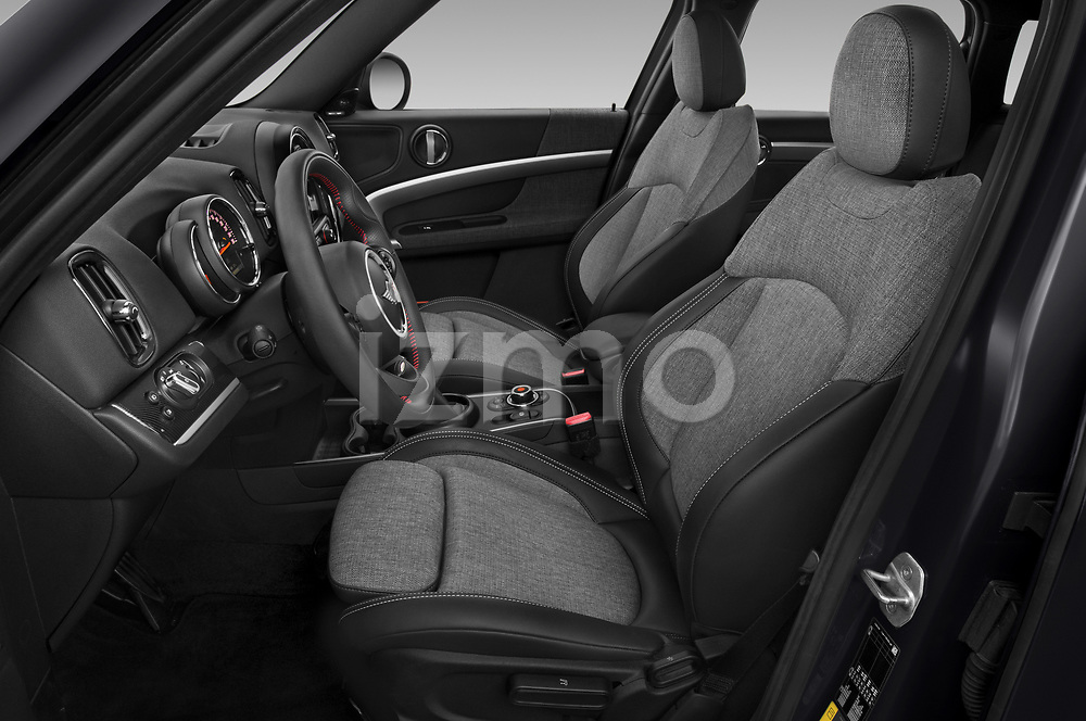 Front seat view of 2020 MINI Countryman Cooper-SE-JCW 5 Door SUV Front Seat  car photos