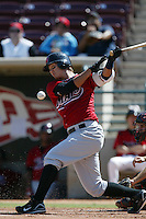 September 1 2008: Kuo Hui Lo of the High Desert Mavericks bats against the Lake Elsinore Storm at The Diamond in Lake Elsinore,CA.  Photo by Larry Goren/Four Seam Images