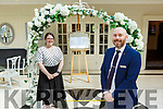 Katie Harnett Sales and MArketing executive and Jason Doyle Operations Manager at the Killarney Heights Hotel
