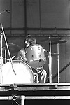 LED ZEPPELIN 1969 John Bonham at Bath Festival