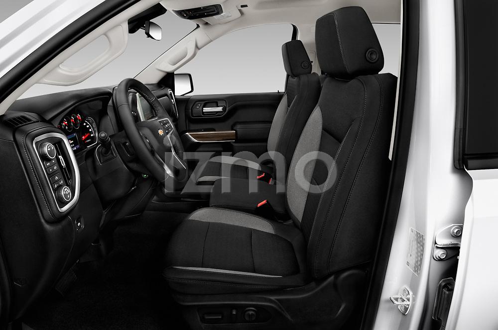 Front seat view of 2019 Chevrolet Silverado-1500 LT 4 Door Pick-up Front Seat  car photos