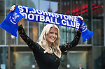 St Johnstone FC Hall of Fame Dinner, Perth Concert Hall….03.04.16<br />Sky Sports presenter Jo Wilson and lifelong St Johnstone fan pictured at tonight's ceremony. Jo who comes from the city of Perth was introduced to St Johnstone by her father and brother. She travelled up from London to be a guest at the St Johnstone Hall of Fame dinner.<br />see story by Gordon Bannerman 07729 865788<br />Picture by Graeme Hart.<br />Copyright Perthshire Picture Agency<br />Tel: 01738 623350  Mobile: 07990 594431