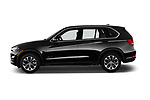 Car driver side profile view of a 2018 BMW X5 xDrive35d 5 Door SUV