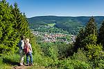 Germany, Thuringia, near Zella-Mehlis: view at district Goldlauter   Deutschland, Thueringen, bei Zella-Mehlis: Blick auf den Ortsteil Goldlauter