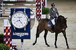 Ludger Beerbaum on Chaman competes during Longines Speed Challenge at the Longines Masters of Hong Kong on 20 February 2016 at the Asia World Expo in Hong Kong, China. Photo by Victor Fraile / Power Sport Images