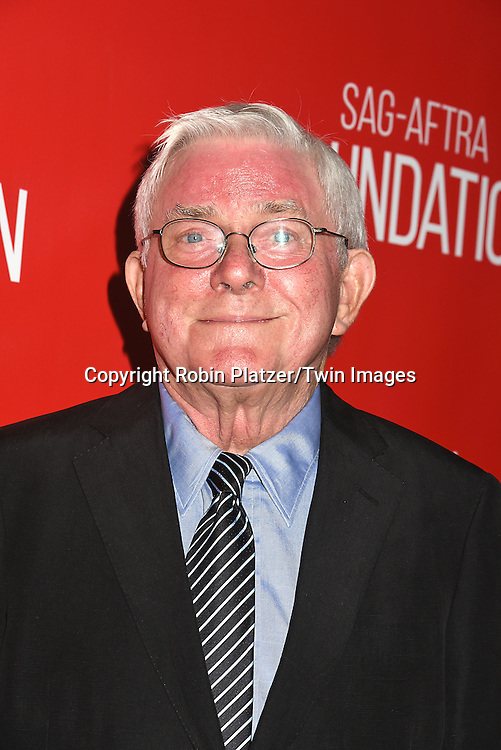 Phil Donahue attends the Grand Opening of SAG-AFTRA Foundation Robin Williams Center on October 5, 2016 at The Robin Williams Center in New York, New York, USA.<br /> <br /> photo by Robin Platzer/Twin Images<br />  <br /> phone number 212-935-0770