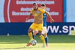 20.02.2021, xtgx, Fussball 3. Liga, FC Hansa Rostock - SV Waldhof Mannheim, v.l. Anton Donkor (Mannheim, 19), Nico Neidhart (Hansa Rostock, 7) Zweikampf, Duell, Kampf, tackle <br /> <br /> (DFL/DFB REGULATIONS PROHIBIT ANY USE OF PHOTOGRAPHS as IMAGE SEQUENCES and/or QUASI-VIDEO)<br /> <br /> Foto © PIX-Sportfotos *** Foto ist honorarpflichtig! *** Auf Anfrage in hoeherer Qualitaet/Aufloesung. Belegexemplar erbeten. Veroeffentlichung ausschliesslich fuer journalistisch-publizistische Zwecke. For editorial use only.