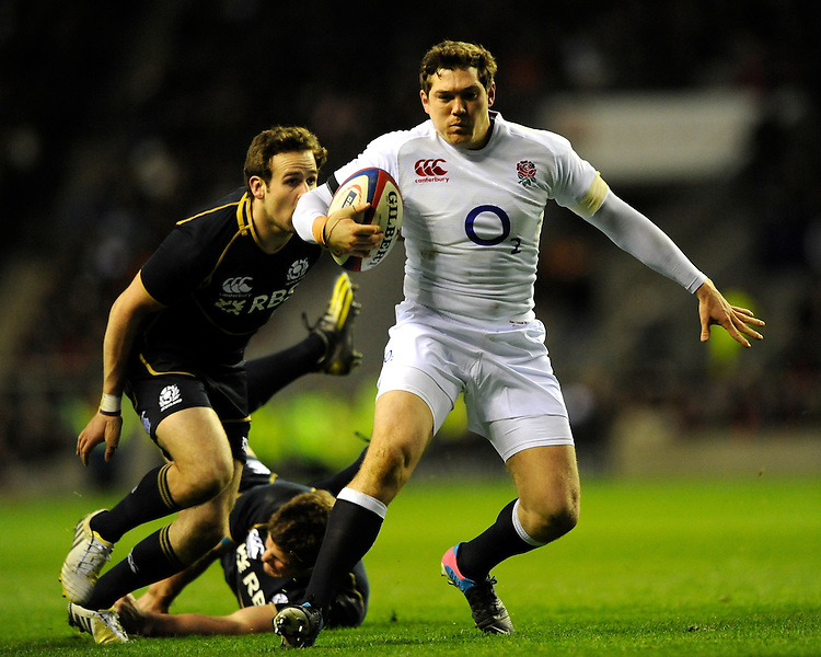 Alex Goode of England in action during the RBS 6 Nations match between England and Scotland at Twickenham on Saturday 02 February 2013 (Photo by Rob Munro)