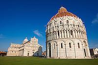 Bapistry of Pisa, Italy