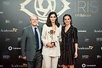 """Alba Flores attends """"Iris Academia de Television' awards at Nuevo Teatro Alcala, Madrid, Spain. <br /> November 18, 2019. <br /> (ALTERPHOTOS/David Jar)"""