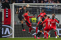 Kopfballchance Stefan Ilsanker (Eintracht Frankfurt) - 20.02.2020: Eintracht Frankfurt vs. RB Salzburg, UEFA Europa League, Hinspiel Round of 32, Commerzbank Arena DISCLAIMER: DFL regulations prohibit any use of photographs as image sequences and/or quasi-video.