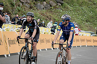 Joris Nieuwenhuis (NED/DSM) up Luz Ardiden<br /> <br /> Stage 18 from Pau to Luz Ardiden (130km)<br /> 108th Tour de France 2021 (2.UWT)<br /> <br /> ©kramon