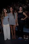 31.08.2012. Celebrities attending the Angel Schlesser fashion show during the Mercedes-Benz Fashion Week Madrid Spring/Summer 2013 at Ifema. In the image (L) Alejandra Onieva (Alterphotos/Marta Gonzalez)
