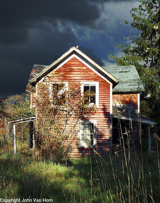 Deserted Farm House, Wayne County, PA