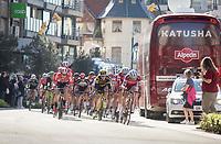 peloton on the local laps in De Panne<br /> <br /> 3 Days of De Panne 2017<br /> Morning stage 3: De Panne-De Panne (111,5km)