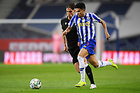 22nd April 2021; Dragao Stadium, Porto, Portugal; Portuguese Championship 2020/2021, FC Porto versus Vitoria de Guimaraes; Luis Diaz of FC Porto and Jorge Fernandes of Vitoria de Guimaraes