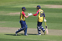Dan Lawrence and Tom Westley in batting action for Essex during Hampshire Hawks vs Essex Eagles, Vitality Blast T20 Cricket at The Ageas Bowl on 16th July 2021