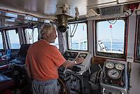 Sea Watch-2.<br /> Die Sea Watch-2 bei ihrer 13. SAR-Mission vor der libyschen Kueste.<br /> Im Bild: Jon Castle, Kapitaen auf der Sea Watch-2 bei der 13. Mission.<br /> 20.10.2016, Mediterranean Sea<br /> Copyright: Christian-Ditsch.de<br /> [Inhaltsveraendernde Manipulation des Fotos nur nach ausdruecklicher Genehmigung des Fotografen. Vereinbarungen ueber Abtretung von Persoenlichkeitsrechten/Model Release der abgebildeten Person/Personen liegen nicht vor. NO MODEL RELEASE! Nur fuer Redaktionelle Zwecke. Don't publish without copyright Christian-Ditsch.de, Veroeffentlichung nur mit Fotografennennung, sowie gegen Honorar, MwSt. und Beleg. Konto: I N G - D i B a, IBAN DE58500105175400192269, BIC INGDDEFFXXX, Kontakt: post@christian-ditsch.de<br /> Bei der Bearbeitung der Dateiinformationen darf die Urheberkennzeichnung in den EXIF- und  IPTC-Daten nicht entfernt werden, diese sind in digitalen Medien nach §95c UrhG rechtlich geschuetzt. Der Urhebervermerk wird gemaess §13 UrhG verlangt.]