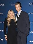 LOS ANGELES, CA - NOVEMBER 02: Josh Duhamel , Fergie arrives at  LACMA 2013 Art + Film Gala held at LACMA  in Los Angeles, California on November 02,2012                                                                               © 2013 Hollywood Press Agency