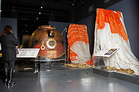 A general view of Tim Peake's Spacecraft Exhibition