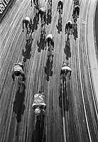 Pix:Michael Steele/SWpix...Cycling, Leicester, 1986...COPYRIGHT PICTURE>>SIMON WILKINSON..Cycling , Leicester.