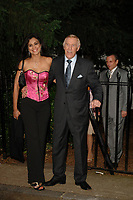 Bruce and Wilnelia Forsyth dies at 89 retro set - <br /> Sir David Frost Party 2006, Carlyle Square, Chelsea, London