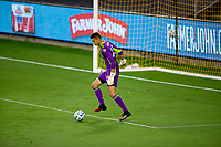 LOS ANGELES, CA - SEPTEMBER 02: Pablo Sisniega #23 GK of LAFC during a game between San Jose Earthquakes and Los Angeles FC at Banc of California stadium on September 02, 2020 in Los Angeles, California.