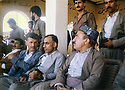 Iraq 1992  At Erbil stadium from right to left, Dr. Mahmoud Osman, Adnan Mufti and Saad Abdullah  Irak 1992 Au stade d'Erbil, de droite a gauche, Dr. Mahmoud Osman, Adnan Mufti et  Saad Abdullah