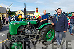 Taking part in the Blennerville Tractor Run Into the West fundraiser for Kerry Hospice on Sunday. L to r: Gerry Clifford sitting on his Styer tractor with John Kerins and Maura O'Sullivan