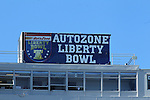 December 30, 2016: Scenery from the Autozone Liberty Bowl Georgia Bulldogs vs TCU Horned Frogs at Liberty Bowl Memorial Stadium in Memphis, Tennessee. ©Justin Manning/Eclipse Sportswire/Cal Sport Media