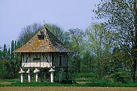 Europe/France/Aquitaine/47/Lot-et-Garonne/Env de Miramont de Guyanne: Pigeonnier