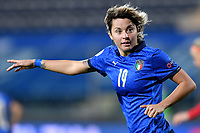 Valentina Giacinti of Italy reacts during the Women s EURO 2022 qualifying football match between Italy and Denmark at stadio Carlo Castellani in Empoli (Italy), October, 27th, 2020. Photo Andrea Staccioli / Insidefoto