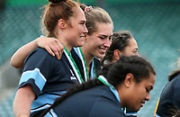 Action from the Manawatu Premier Women's Rugby Prue Christie Cup Final between Kia Toa and Fielding Old Boys-Oroua Women at CET Stadium in Palmerston North, New Zealand on Saturday, 29 May 2021 Photo: Simon Watts / bwmedia.co.nz