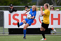 Emily Morison of Southern during the Handa Women's Premiership - Capital Football v Southern United at Petone Memorial Park, Wellington on Saturday 7 November 2020.<br /> Copyright photo: Masanori Udagawa /  www.photosport.nz