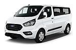 2021 Ford Transit-Custom-Kombi Trend 5 Door Combi Angular Front automotive stock photos of front three quarter view