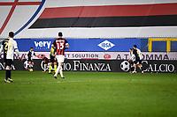 Calcioe Finanza Banner is seen during the Serie A football match between UC Sampdoria and AC Milan at Marassi stadium in Genova (Italy), December 6th, 2020. Photo Matteo Gribaudi / Image Sport / Insidefoto