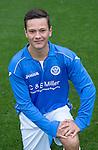 St Johnstone FC Academy U17's<br /> Paul Esslemont<br /> Picture by Graeme Hart.<br /> Copyright Perthshire Picture Agency<br /> Tel: 01738 623350  Mobile: 07990 594431