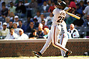 CHICAGO - CIRCA 1999:  Barry Bonds #25 of the San Francisco Giants bats during an MLB game at Wrigley Field in Chicago, Illinois. Bonds played for 22 seasons with 2 different teams, was a 14-time All-Star and was a 7-time National League MVP. (David Durochik / SportPics) --Barry Bonds