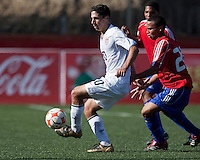 Sebastian Lletget controls the ball. The Under-17 US Men's National Team defeated Cuba 5-0 at the 2009 CONCACAF Under-17 Championship April 21, 2009 in Tijuana, Mexico.