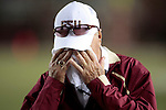 Florida State head coach Bobby Bowden wipes his face in the second half of University of Miami's 38-34 defeat of the Florida State Seminoles in Tallahassee September 7, 2009. (Mark Wallheiser/TallahasseeStock.com)