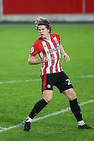 Mads Bech Sorensen of Brentford during Brentford vs Luton Town, Sky Bet EFL Championship Football at the Brentford Community Stadium on 20th January 2021