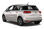 Car pictures of rear three quarter view of a 2018 Citroen C4 Spacetourer Business + 5 Door MPV angular rear