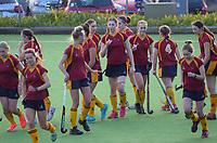 Southland v South Canterbury. 2021 National Women's Under-18 Hockey Tournament at National Hockey Stadium in Wellington, New Zealand on Sunday, 11 July 2021. Photo: Dave Lintott / lintottphoto.co.nz https://bwmedia.photoshelter.com/gallery-collection/Under-18-Hockey-Nationals-2021/C0000T49v1kln8qk