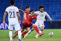 6th August 2020, Basel, Switzerland. UEFA National League football, Switzerland versus Germany;  Leroy Sane, ger goes past Granit Xhaka sui and Ricardo Rodriguez