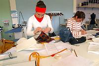 - University of Milan - Bovisa, department of Design, dress laboratory....- Università di Milano - Bovisa, facoltà di Design, laboratorio di abbigliamento