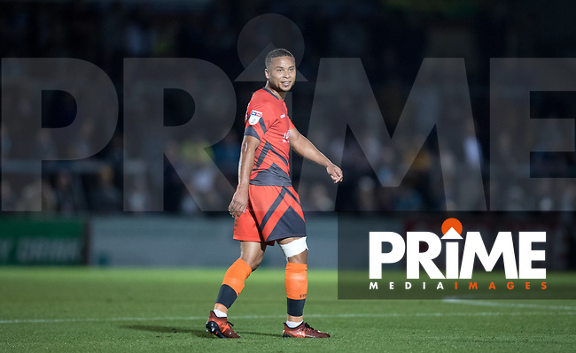 Curtis Thompson of Wycombe Wanderers during the Carabao Cup 2nd round match between Wycombe Wanderers and Forest Green Rovers at Adams Park, High Wycombe, England on 28 August 2018. Photo by Andy Rowland.